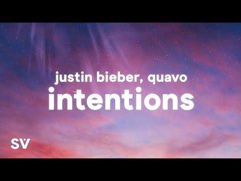 Justin Bieber Intentions Lyrics ft. Quavo