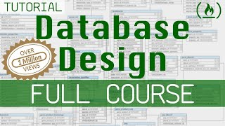 Database Design Course - Learn how to design and plan a database for beginners