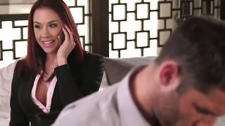 Boss Chanel Preston# gets her it glazed make punishment with hot and sticky lingerie