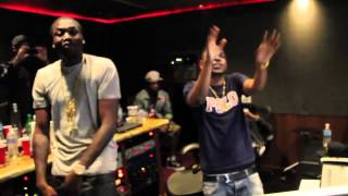 Meek Mill ft Kendrick Lamar  A1 Everything (Studio Session) (2012)