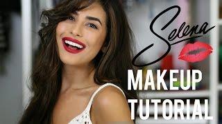 Selena Inspired Makeup and Hair Tutorial (Easy)