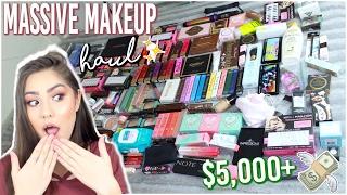 $5,000+ MASSIVE MAKEUP HAUL ♡ Gen Beauty LA, Too Faced HQ, Morphe Store, etc.!