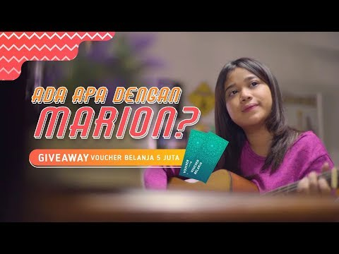 Xxx Mp4 Ada Apa Dengan Marion Episode 4 Giveaway Voucher Belanja 5 Juta Rupiah 3gp Sex