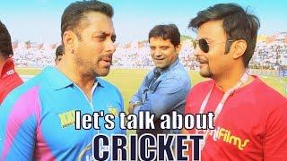Salman Khan, Huma, Lisa & Others at Colors Celebrity Cricket League