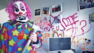 2 SCARY CLOWNS DESTROYED JAKE PAUL