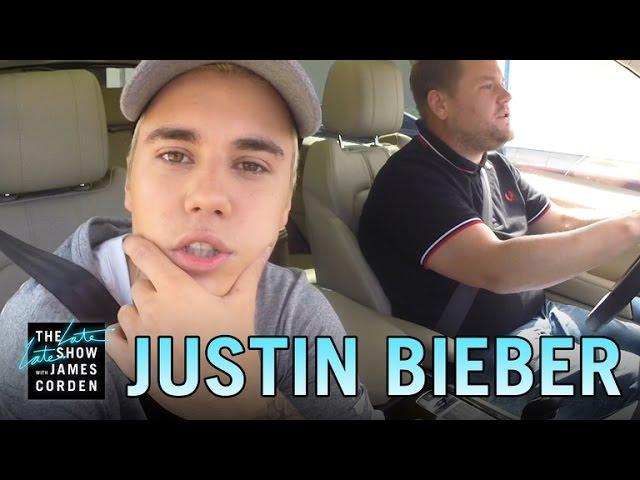 Justin Bieber Auto-Karaoke Nr. 2