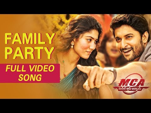 Xxx Mp4 MCA Video Songs Family Party Full Video Song Nani Sai Pallavi 3gp Sex