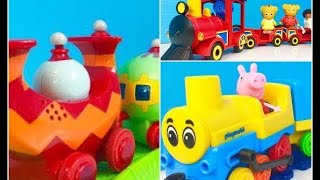 Popular TOY TRAIN Videos Learning Compilation for Young Kids!