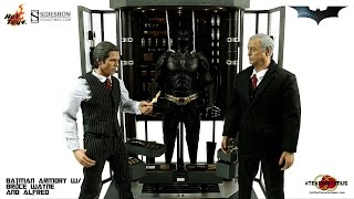 Video Review of the Hot Toys: Batman Armory w/ Bruce Wayne and Alfred