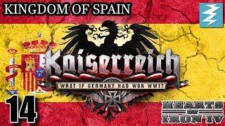 ITALY DECLARES WAR [14] - Spain- Kaiserreich Mod - Hearts of Iron IV HOI4 Paradox