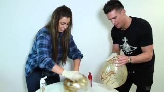 The Geordie Shore Balloon Tan Challenge - Heat Twitter Awards 2014