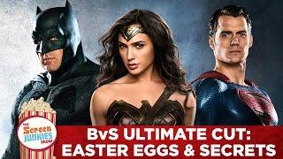Batman v Superman Ultimate Cut - Easter Eggs and Secrets