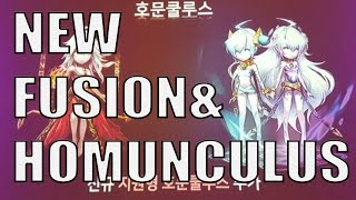OMG NEW HOMUNCULUS/FUSION AND UPDATES SW
