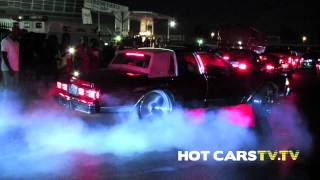 HOTCARSTV: Stuntfest 2014 - Donk Burnout, Box Chevy Burnout