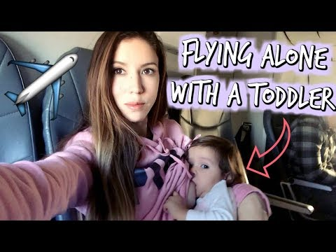Xxx Mp4 FLYING ALONE FOR THE FIRST TIME WITH A TODDLER 3gp Sex