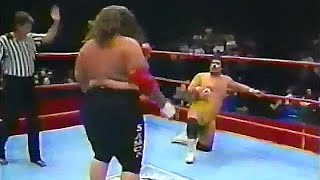 Pete Sanchez vs.Kokena Maximus_ All Star 04/90