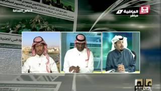 نقاش محمد النمري ونبيل العبودي حول قدرة الهلال على التوقيع مع أي لاعب #عالم_الصحافة