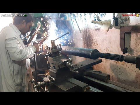 Drive shaft repairing and strengthening welding