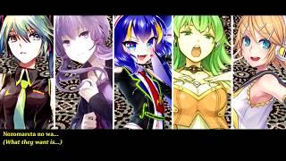 【14 Vocaloid Chorus】Genealogy Of Red, White & Black || VOCALOID ||