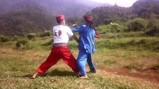 Bang Jampang ditantang Jawara Kampung Sebrang