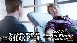 """Castle 8x22 Sneak Peek Series Finale  - Castle Season  8 Episode 22    """"Crossfire"""""""