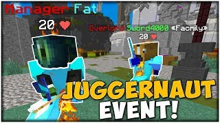 FIGHT FOR THE BEST MASK! *JUGGERNAUT EVENT* | Minecraft Factions #573
