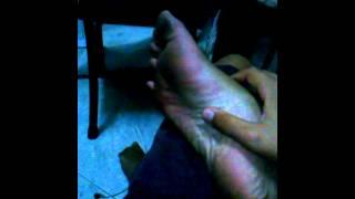Chupandome los pies