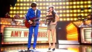 Amy Winehouse Ft. Mark Ronson - Valerie Live BRIT Awards (2008) Best Performance