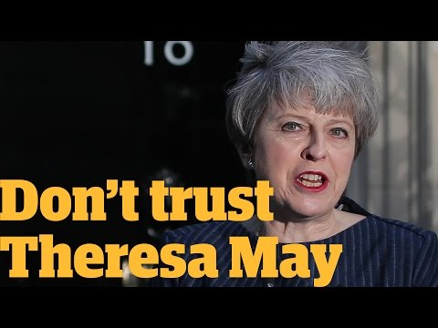 You can t trust Theresa May in the general election Owen Jones talks