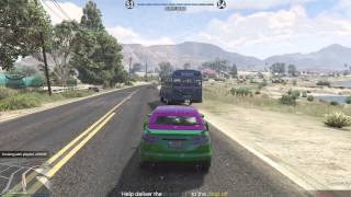 GTA 5 PC - Bus Hijack (GTA 5 PC Gameplay)