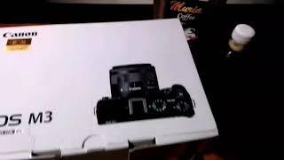 Unboxing camera canon eos m3 oleh tim agro toko