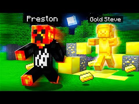 I FOUND GOLD STEVE in MINECRAFT SCARY SECRET