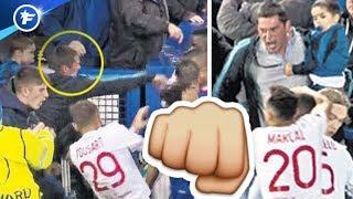 La bagarre Everton-OL fait jaser en Angleterre | Revue de presse