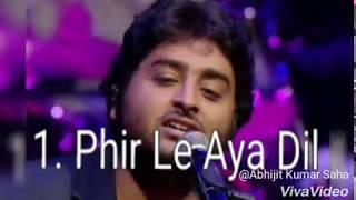 Arijit Singh Best Five Songs In Bollywood