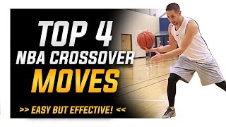 Top 4 NBA Crossover Moves: World's Best Basketball Moves