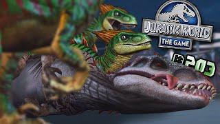 RAPTORS ATTACK!!    Jurassic World - The Game - Ep203 HD