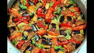 طريقة عمل الملضومة او باذنجان باللحمة اكلة سهلة ولذيذة مع رباح محمد ( الحلقة 527 )