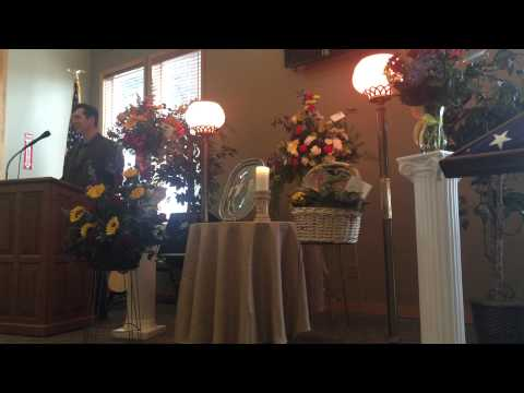 Vurl Beck Memorial Service - Dustin's Eulogy