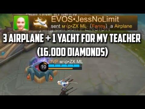 ZXUAN MAIN FANNY DIGIFT 16.000 DIAMONDS!