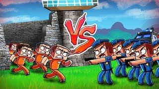 Minecraft | Good vs Evil - ESCAPED PRISONER CITY TAKE OVER! (Police vs Prisoners)
