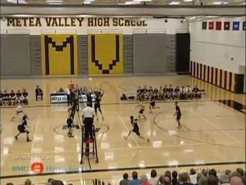 Neuqua Valley vs Metea Valley Boys Volleyball May 7, 2013