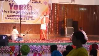 FOLK Song MIRZA gobindgarh public college Khanna.