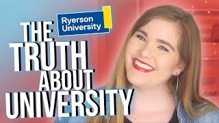 The TRUTH about University | Ryerson Q&A
