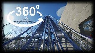 360 4k VR VIDEO ROCKET Roller Coaster VR BOX 4k PSVR 360 Experience