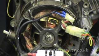 fault finding repair tips for a brushless capacitor compensated generator