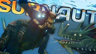 MEETING THE SEA DRAGON & SEA EMPEROR!! | Subnautica (Experimental Mode)