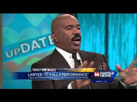 Pole dancing lawyer looks for love with Steve Harvey s help