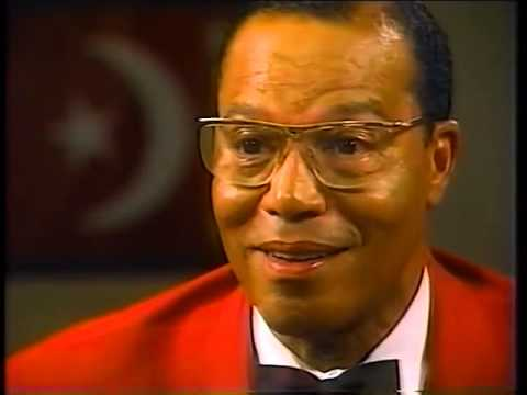 Classic Interview Minister louis Farrakhan RIPS Mike Wallace a new A Hole