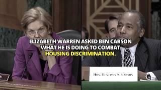 Sen. Elizabeth Warren questions HUD Secretary Ben Carson