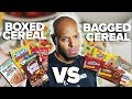 Boxed Cereal vs. Bagged - Can You Tell the Difference?